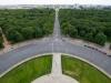 Widok z Kolumny Zwycięstwa, Berlin