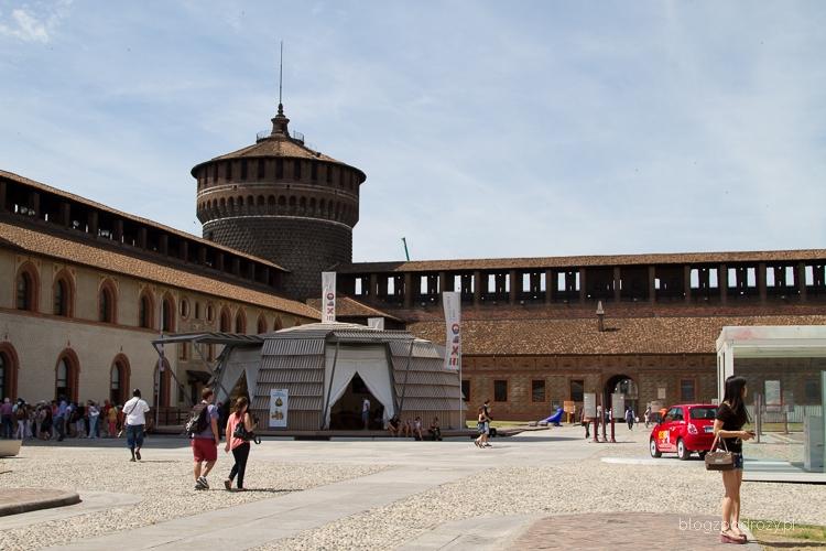 Mediolan, Zamek Sforzów