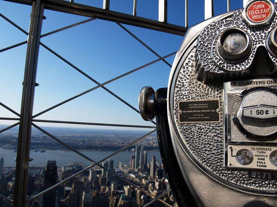 Nowy Jork – widok z Empire State Building