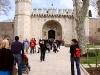 Stambuł - Wejście do Pałacu Topkapi
