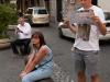 W poszukiwaniu drogi powrotnej do hotelu. Rzym, Włochy