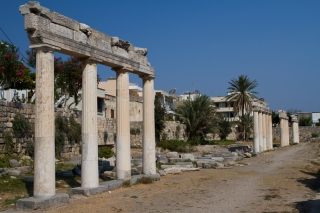 Kos. Zachodni teren archeologiczny