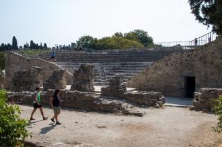 Kos. Rzymski Odeon