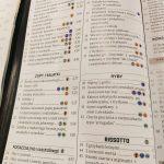 Zdjęcie menu w restauracji na Teneryfie