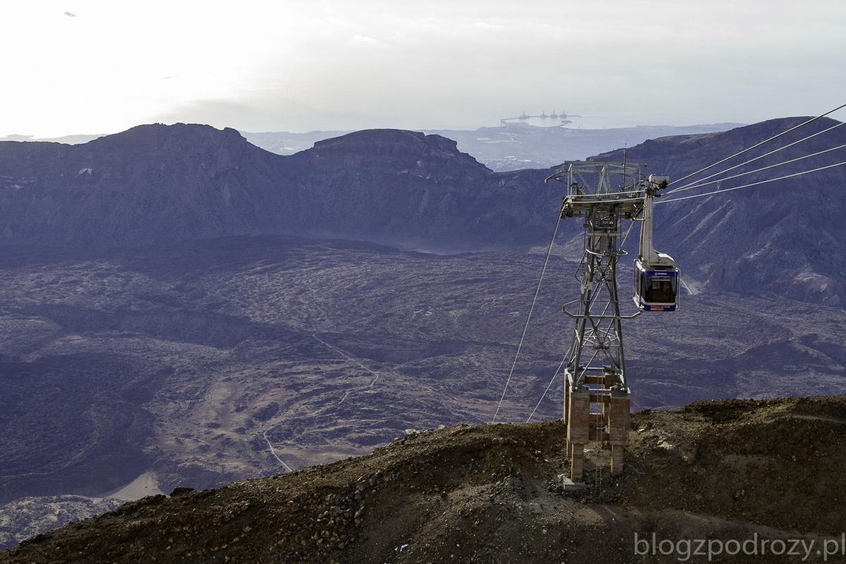 Widok z El Teide