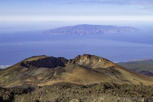 Teneryfa, widok z wulkanu