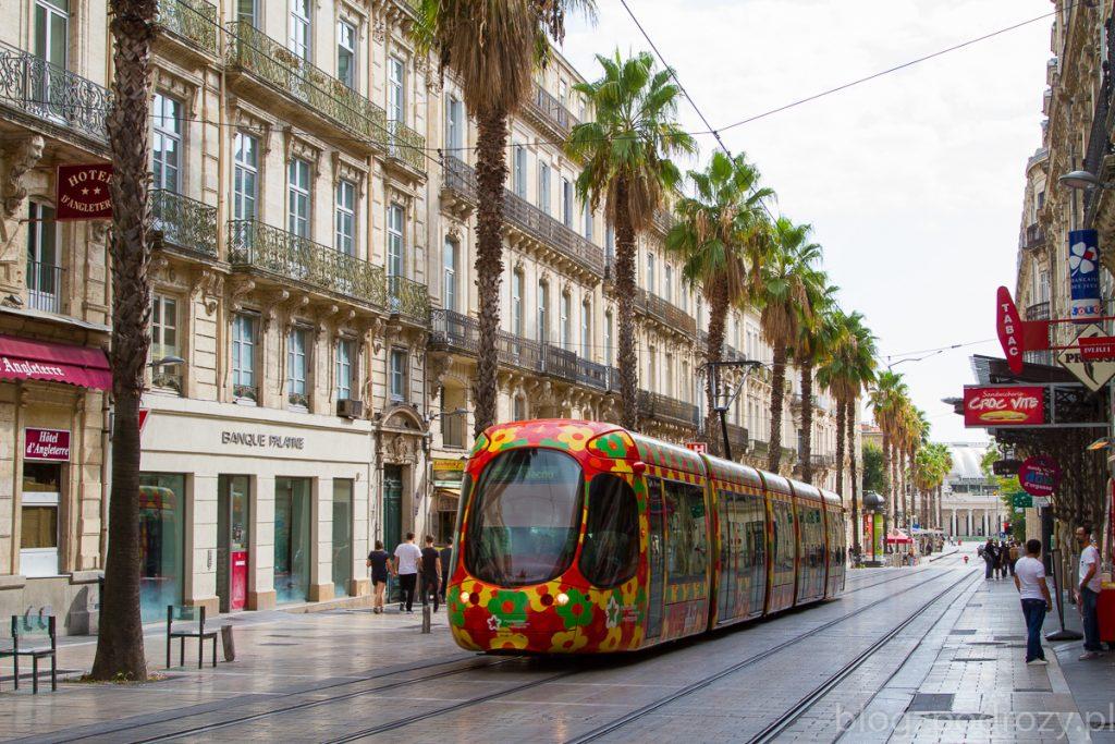 Tramwaj w Montpellier