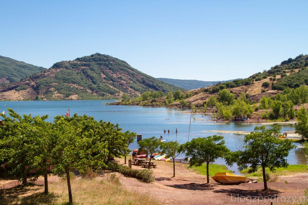 Jezioro Salagou